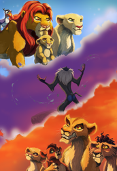 The Lion King 2: Simba's Pride (20th anniversary) by blueiceflower