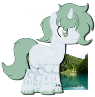 Green River the Astral Pony Adoption *closed* by MagicDarkArt