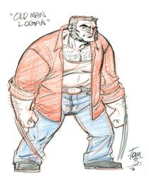 Old Man Logan by tombancroft