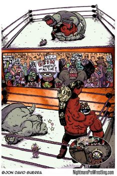 Nightmare Pro Wrestling Issue 5 Page 15 by JonDavidGuerra