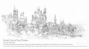 Castle Village #4, Enchanta, Detail Study by Built4ever