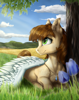 [Contest prize] Sunny Afternoon by GaelleDragons