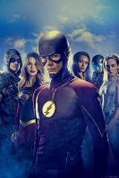 New Arrow S6/Supergirl S3/Flash S4/LOT S3 Poster by Artlover67