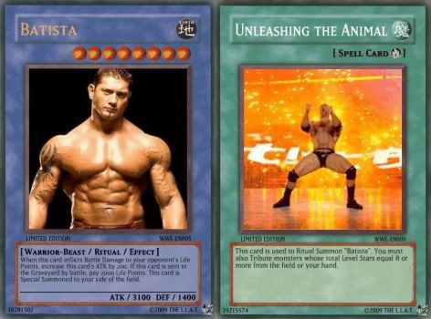 Batista in a Card Game by oneandonlyLLAT