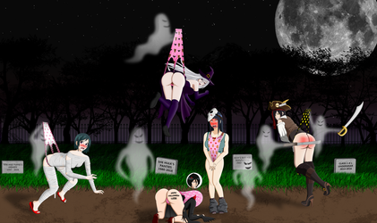 Halloween Special - The Cemetery of shame by Thesecondstart3