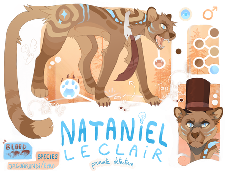 Nataniel Leclair [REFERENCE 2018] by SkyminDeon