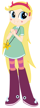 Equestria Girls x SvsTFofE: Star Butterfly by Lhenao