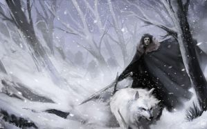 Jon Snow by justinwongart