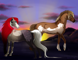 Fillyfalls Commission by Tesurii
