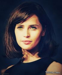 Felicity Jones (Golden) by thephoenixprod