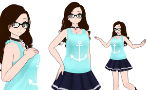 MMD Self Model by SailorMoon4evr
