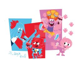 Jelly Jamm Group! For t-shirt by Chocolerian