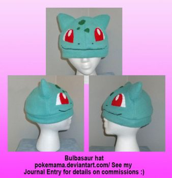 Bulbasaur hat by PokeMama