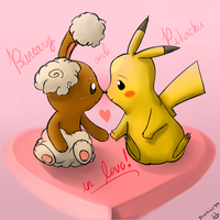 [Pokemon] Pikachu n' Buneary in love 3