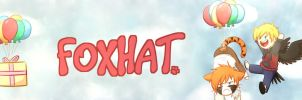 Foxhat New Banner by Foxhatart