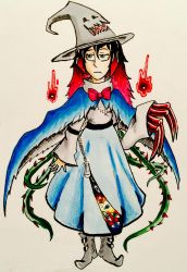 Sona- Witchsona 2016  by CutieWinterSnow