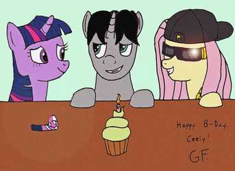 Happy B-Day Ceely by Gutterfly-Da-Gangsta