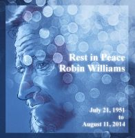 RIP Robin Williams by kungfubellydancer