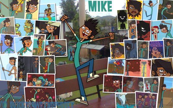 :+:Total Drama Pix Wallpaper-Mike:+: by QuickDrawDynoPhooey