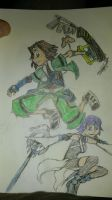 Eric and Aqua by MUTANTS-FOREVER