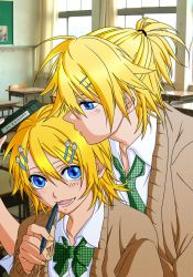 Rin and Len by colouredforpleasure