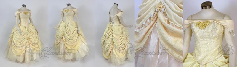 Belle Cosplay Gown by glimmerwood