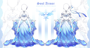 [closed] Soul Armor Outfit Adopt | Auction by Black-Quose
