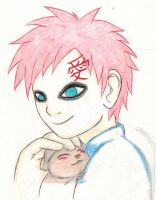 Squirrel Lee and Gaara by Maoden-DOis