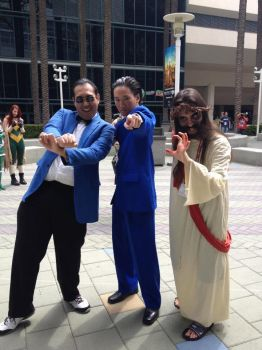 Zombie Jesus 2013 Character Poses by Doctor-Talon