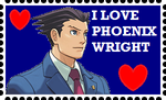 I Love Phoenix Wright by roseprincessmitia