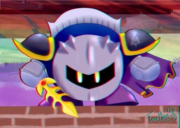 Edgy Borb, The Meta Knight by MijailoSalas