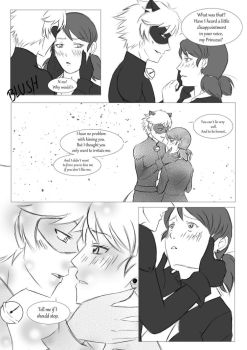 ML Comic: Puurrrove It! (MariChat) Page 4 by 19Gioia93