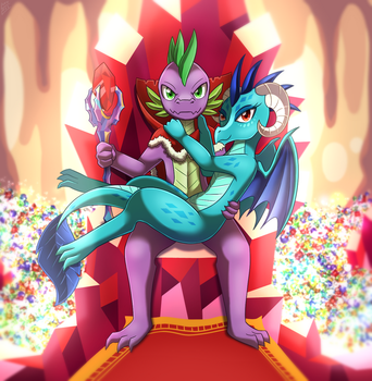 [Reward] King In The Mountain by vavacung