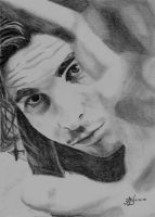 Christian Bale by Graphite-Angel
