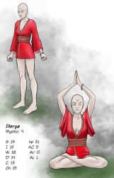 Illerya, right after her recovery from the Temple by warriorneedsfood
