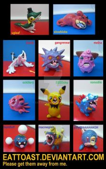 ugly pokemon series 2 by EatToast