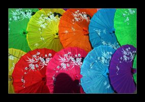 Umbrellas by gEistiO
