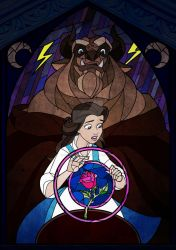 Beauty and the beast by CharlotteFranks