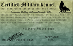 SVI  : Military Kennel license by MistyofSunrise