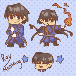 Roy Mustang by dusknoirs