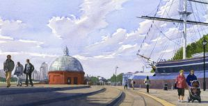 Greenwich Afternoon by treeshark