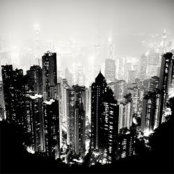 Hong Kong - Gotham City by xMEGALOPOLISx