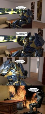 Mini-Comic: Certain Chat by CrusaderTheFirst