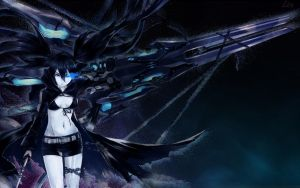 Black Rock Shooter by Quistyuna