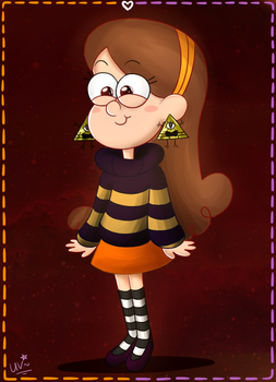 halloween Mabel. by CherryVioletS