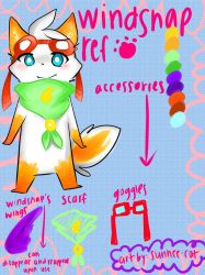 windsnap reference sheet by sunnee-cat