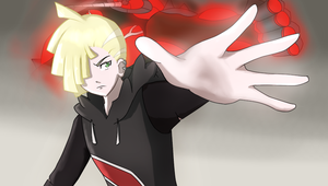 Gladion Pokemon Sun and Moon (UB-Absorption) by Katomon