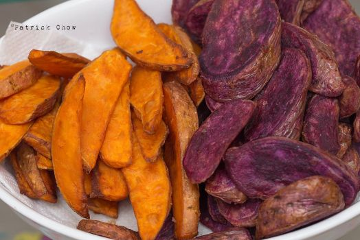Sweet potato chips by patchow