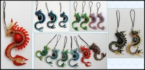 And more dragon charms by Rrkra