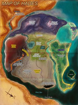 Map of Hades by RobinRone